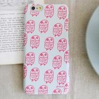 [duboo] Owl Pink iPhone6+ HardCase