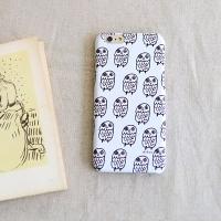 [duboo] Owl Black iPhone6+ HardCase