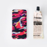 [duboo] Camouflage Pink iPhone6 HardCase