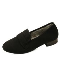 국내생산 Woolen fur loafers_KM14w240