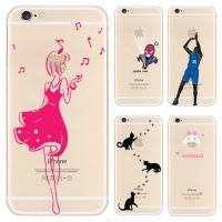 아이폰6 애플 아트 컬렉션 프리미엄 TPU 도트 케이스_(699898)