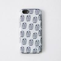 [duboo] Owl Black iPhone6+ Bumper Case
