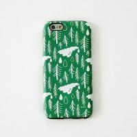 [duboo] Norwegian Wood Olive iPhone6 Bumper Case