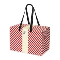 PLUSBOX GIFT BAG (Red stripes)