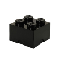 [레고 스토리지] 레고 블릭정리함 4 (블랙)
