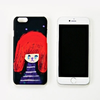 [duboo] Red Hair iPhone5/5s Hard Case