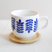 [duboo] Leaf Blue Mug