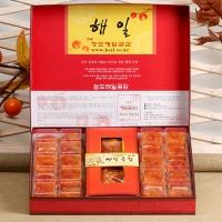 [해일곶감]고품격선물세트 중3호(반건시50gx20입)(청도감말랭이400g)