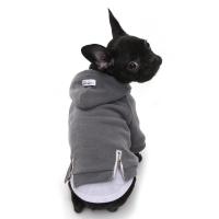 vintage hoodie-grey
