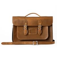 Premium 15inch Briefcase Oak