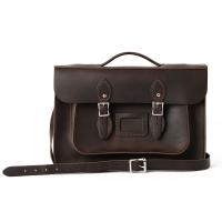 Premium 15inch Briefcase Walnut
