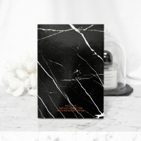 MARBLE DIARY - Black crack