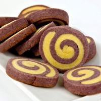 자색롤 쿠키