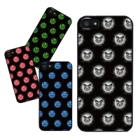 DPARKS MONSTER PATTERN(4COLOR) BLACK CASE