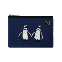 penguin card pouch