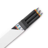 Rainbow Pencils (무지개 연필 3 set) - black