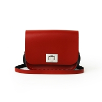 Pillarbox Red Small Pixie Bag
