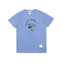 MICKEY SLUB TEES (BLUE)