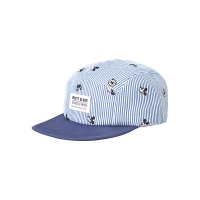 WHITE BLANK MICKEY COMPASS CAMP CAP (SKY BLUE)