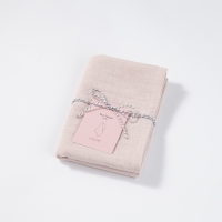 린넨 티타올 핑크
