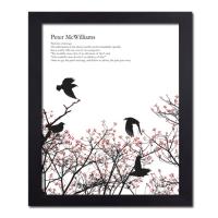 [iamastar] 새와 나뭇가지 액자