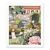 [yejukoo] 할머니의 정원 액자