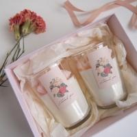 감사의 마음을 선물하세요 - Carnation Soy candle_Lilac