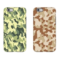 [듀얼케이스] Vintage Camouflage (아이폰)