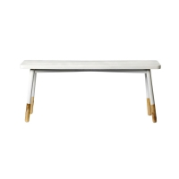[Blooming Ville] Bench Fir w/MDF Top, White 509002 벤치