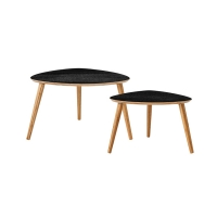 [Blooming Ville] CoffeeTables,Black,Set of 2 89200001커피테이블