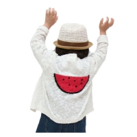watermelon cardigan