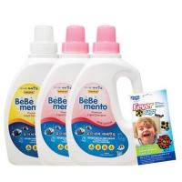 베베멘토 친환경 유아세제 1개+섬유유연제 2개+피버벅스 증정
