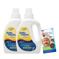 베베멘토 친환경 유아세제 2개+피버벅스 증정