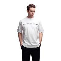 퓨처 라운드 티셔츠(화이트)