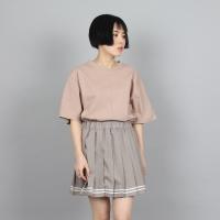 [쿠치마치] (BOY&GIRL) 소프트 절개 티셔츠 (4color)