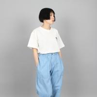 [쿠치마치] 돌고래 자수 티셔츠 (3color)