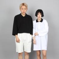 [쿠치마치] (BOY&GIRL) PK 카라 티셔츠 (3color)