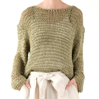 loose netting knit
