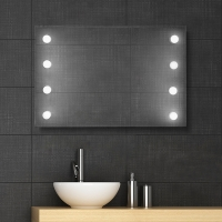 1W LED Non Frame 조명거울 (Froast type)