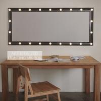 1W LED 카리스마 블랙 조명거울 (Clear type)