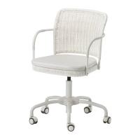 GREGOR Swivel chair, white Vittaryd 회전의자