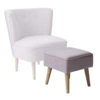 [Blooming Ville] Pouf, Rose Upholstery 쿠션의자12300001