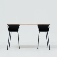POLYGON WORK TABLE 1200 - GRAY