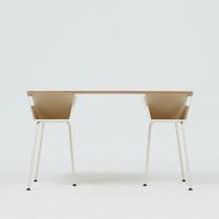 POLYGON WORK TABLE 1200 - ALMOND
