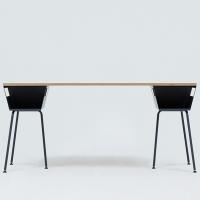 POLYGON WORK TABLE 1600 - GRAY