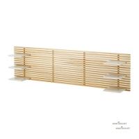 MANDAL Headboard, birch, white 501.763.13 헤드보드