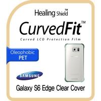 갤럭시S6 엣지 정품 클리어 커버 CurvedFit 올레포빅 필름 2매