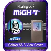 갤럭시S6 정품 S-뷰커버 충격흡수(방탄)보호필름 2매
