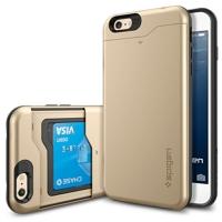 아이폰6플러스케이스 슬림아머 카드슬라이더 샴페인골드