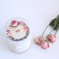 flower soy candle : 블루밍 부케